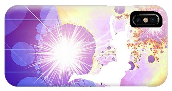 Cosmic Dance IPhone Case