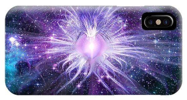 Cosmic Heart Of The Universe IPhone Case