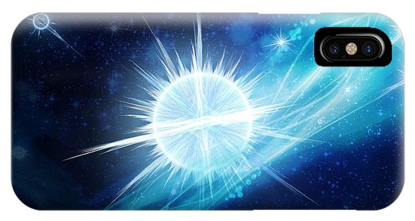 Cosmic Icestream IPhone Case