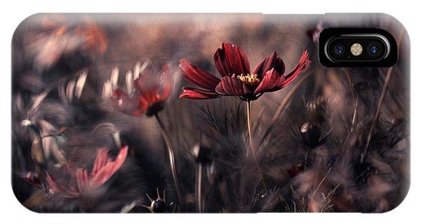 Flower Gardens iPhone Case - Cosmic Inflation by Fabien Bravin