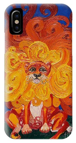 Cosmic Lion IPhone Case