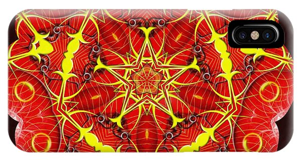 Cosmic Masculine Firestar IPhone Case