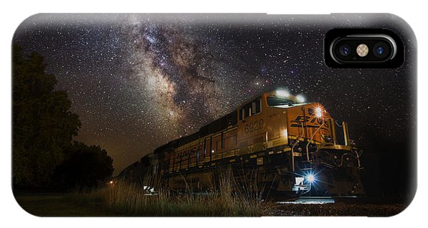 Cosmic Railroad IPhone Case