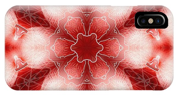 Cosmic Spiral Kaleidoscope 22 IPhone Case