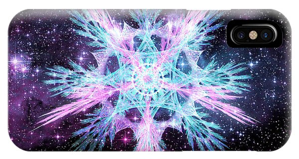 Cosmic Starflower IPhone Case