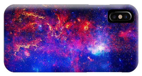 Endless iPhone Case - Cosmic Storm In The Milky Way by Celestial Images