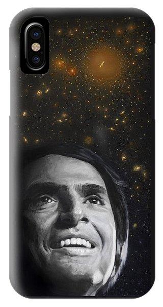 Cosmos- Carl Sagan IPhone Case