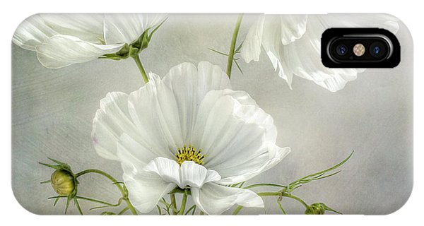 Trio iPhone Case - Cosmos Charm by Mandy Disher