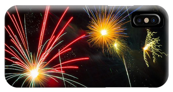 Cosmos Fireworks IPhone Case