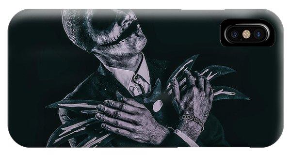 Skull iPhone Case - Cosplay - Jack Skellington by Anders Samuelsson