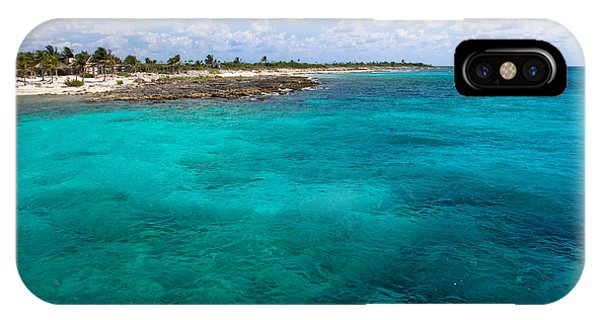Maya iPhone Case - Costa Maya  by Shane Holsclaw