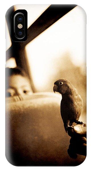 Costa Rican Bird Boy IPhone Case