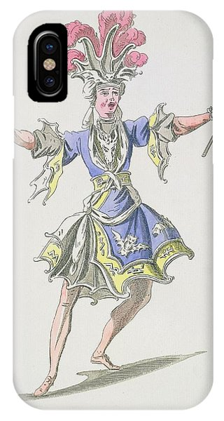 Baroque iPhone Case - Costume Design For The Magician by French School