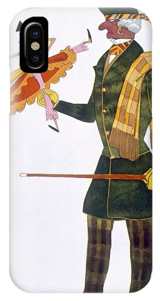 Dance iPhone Case - Costume For The Englishman, From La by Leon Bakst