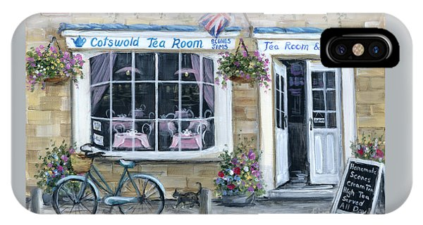 Cotswold Tea Room IPhone Case