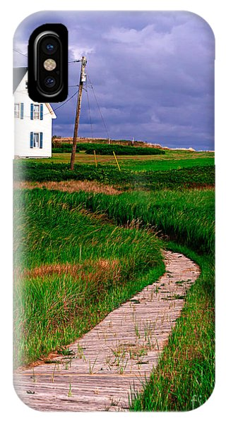 Edward iPhone Case - Cottage Among The Dunes by Edward Fielding