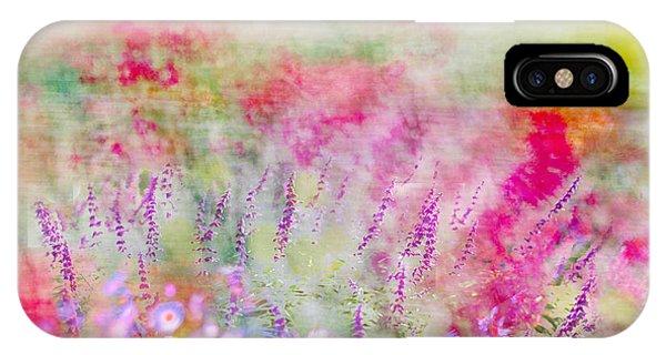 Cottage Garden Impressionism IPhone Case