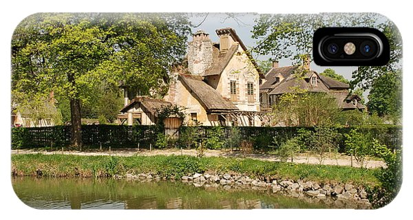 Cottage In The Hameau De La Reine IPhone Case