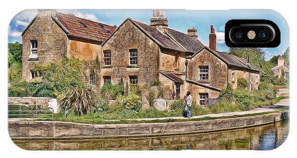 Cottages At Avoncliff IPhone Case