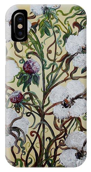 Cotton #1 - King Cotton IPhone Case