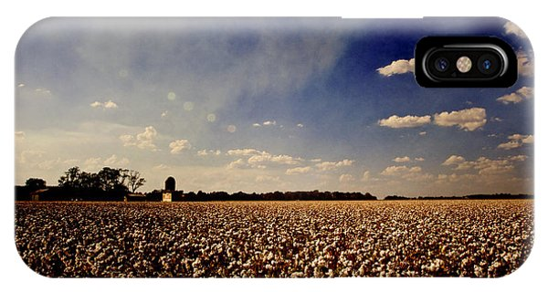 Cotton Field - Texture IPhone Case