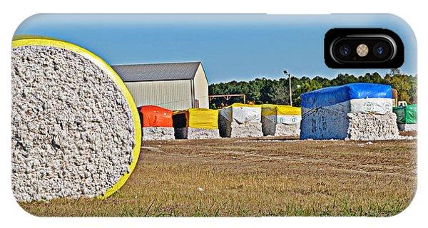 Cotton Harvest IPhone Case