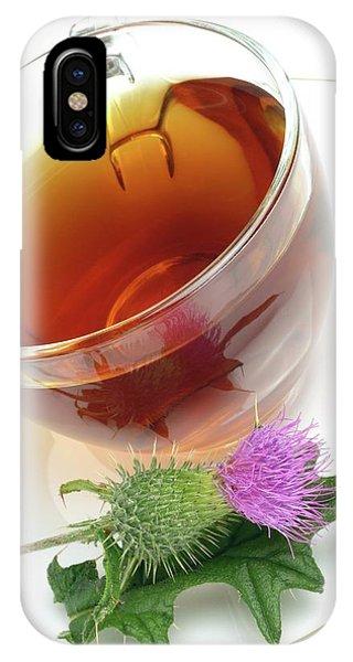 Cotton Thistle Herbal Tea Phone Case by Bildagentur-online/th Foto/science Photo Library