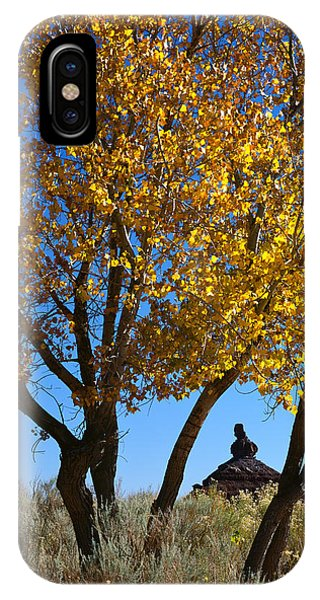 Cottonwood And Nipple Butte-v IPhone Case