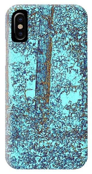 Shrub iPhone Case - Cottonwood Sanctuary by Will Borden