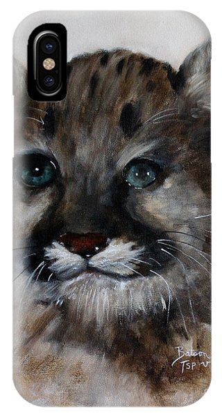 Antares - Cougar Cub IPhone Case