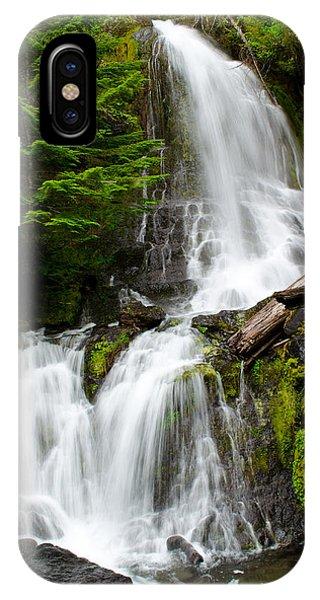 Cougar Falls IPhone Case