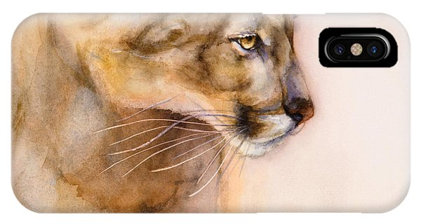 Cougar On The Prowl IPhone Case