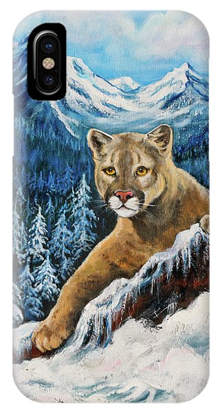 Cougar Sedona Red Rocks  IPhone Case