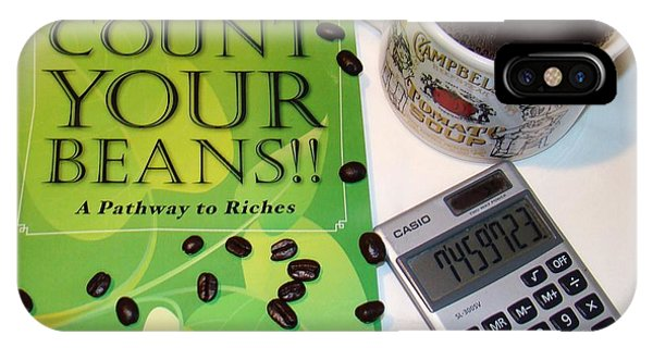 Count Your Beans IPhone Case