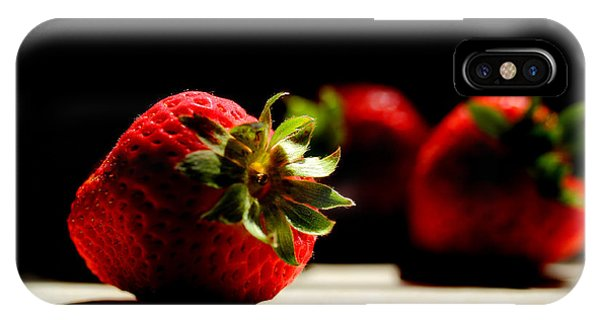 Countertop Strawberries IPhone Case