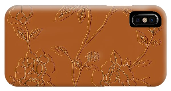 Leave iPhone Case - Counting Flowers On The Wall by David Dehner