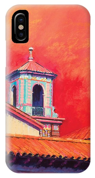 Country Club Plaza Phone Case by Beverly Amundson