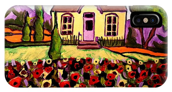 Country Cottage 2 IPhone Case