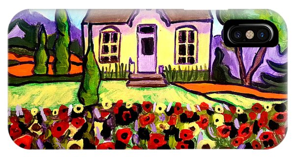 Country Cottage 3 IPhone Case