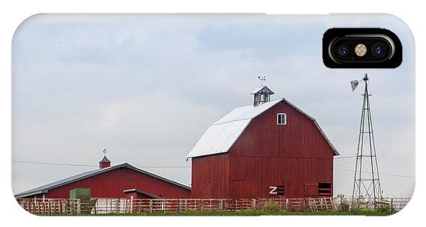 Country Farm Portrait IPhone Case