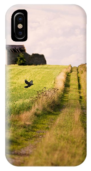 Country iPhone Case - Country Lane by Amanda Elwell
