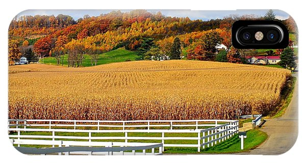 Amish Country iPhone Case - Country Lane by Frozen in Time Fine Art Photography