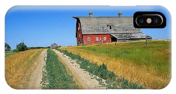 Country Road In Saskatchewan Phone Case by Buddy Mays