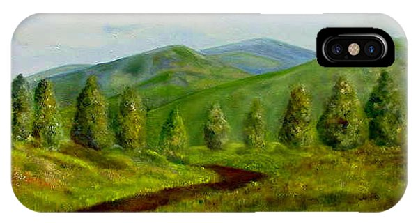 Country Road Phone Case by Laura Corebello