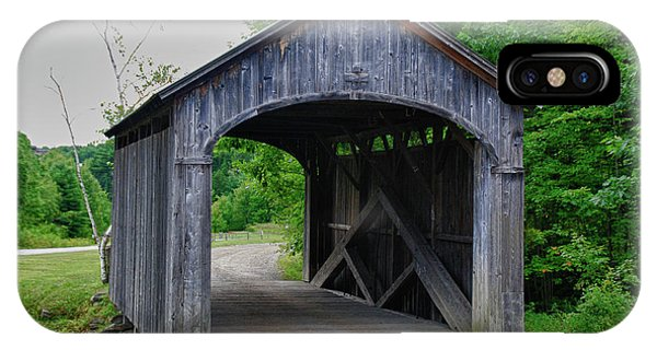 Country Store Bridge 5656 IPhone Case