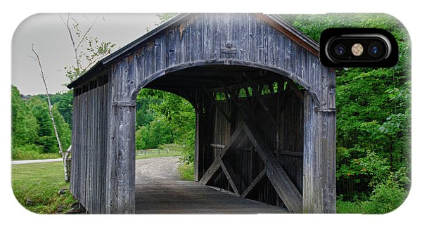 Country Store Bridge 5656 IPhone Case