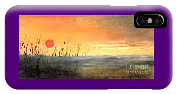 Country Sunset Jo Daviess IPhone Case