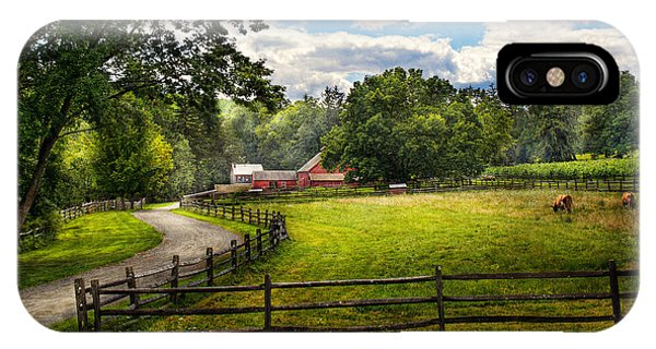 Custom Made iPhone Case - Country - The Pasture  by Mike Savad