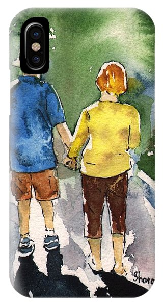 Standing Woman And Strolling Man Iphone >> Man And Woman Holding Hands Iphone Cases Page 3 Of 4 Fine Art