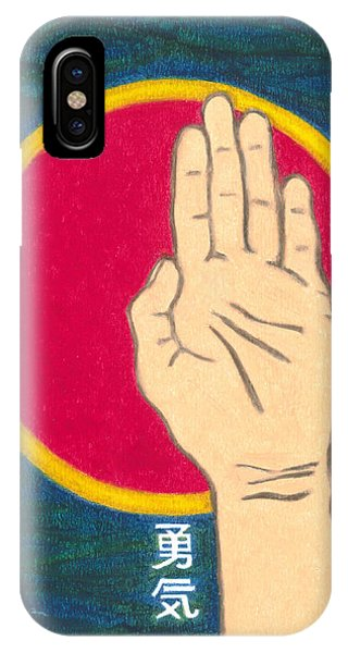 Courage - Mudra Mandala IPhone Case